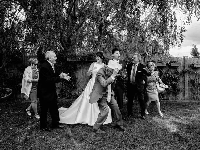 La boda de Alfonso y Almudena en Laguardia, Álava 73