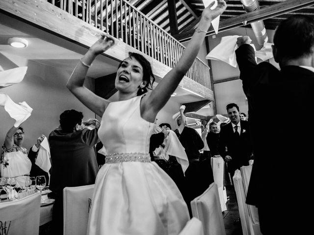 La boda de Alfonso y Almudena en Laguardia, Álava 77