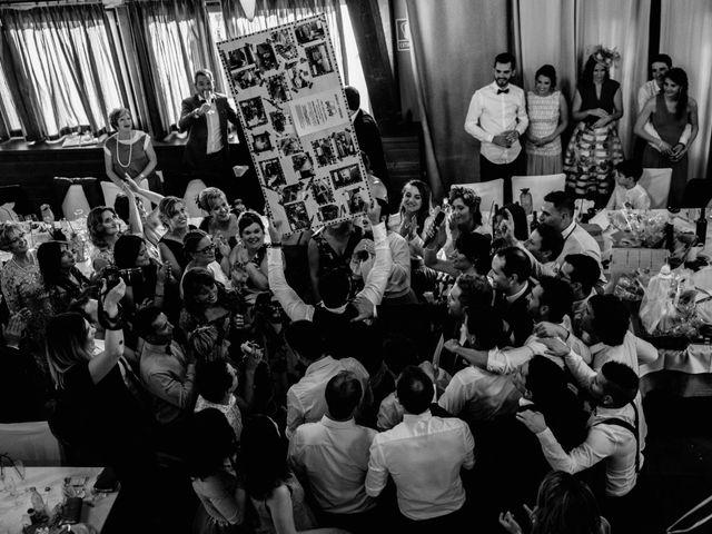La boda de Alfonso y Almudena en Laguardia, Álava 95