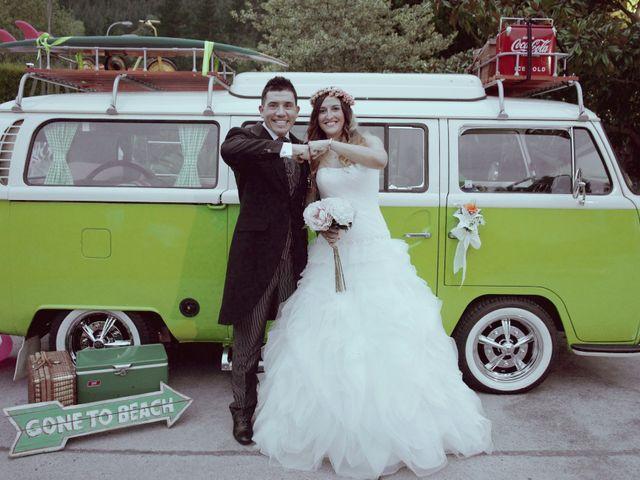 La boda de Aintzane y Kepa