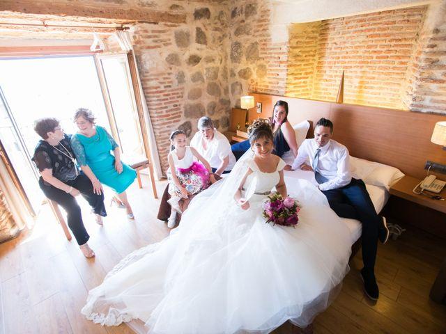 La boda de Begoña y Oscar en Vega De Santa Maria, Ávila 6
