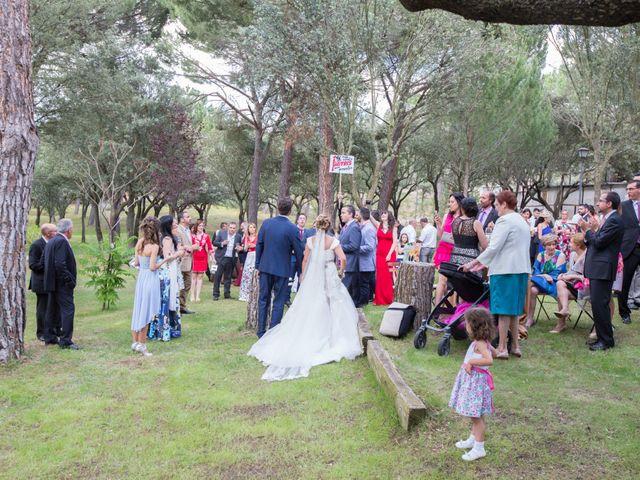 La boda de Begoña y Oscar en Vega De Santa Maria, Ávila 18