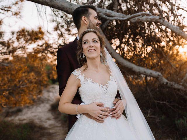 La boda de José David y Rocío en San Javier, Murcia 1