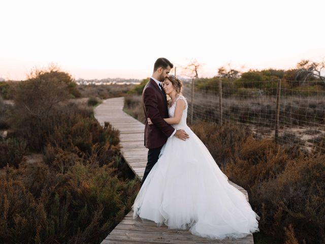La boda de Rocío y José David