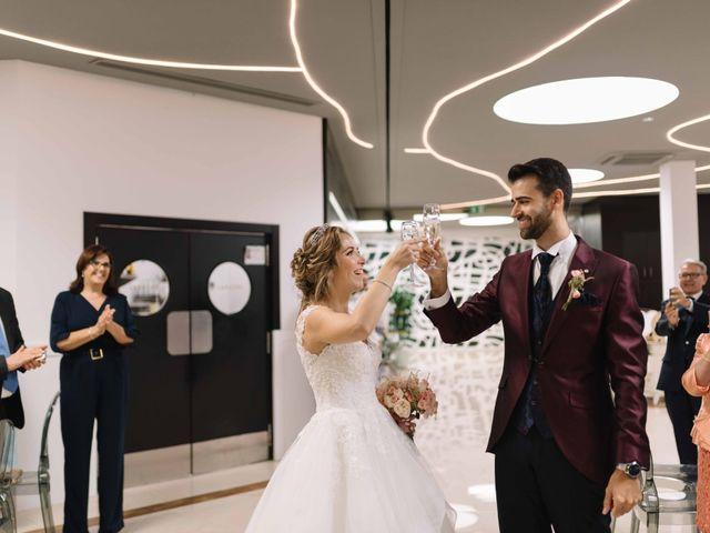 La boda de José David y Rocío en San Javier, Murcia 17