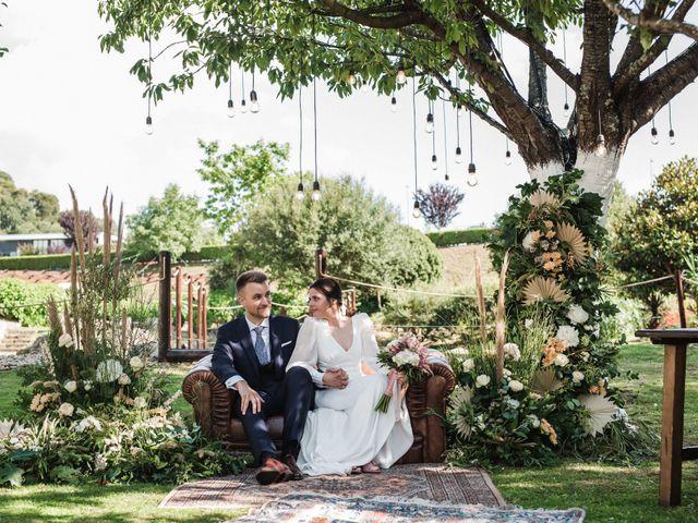La boda de Héctor y Laura en Bueu (Resto Parroquia), Pontevedra 15