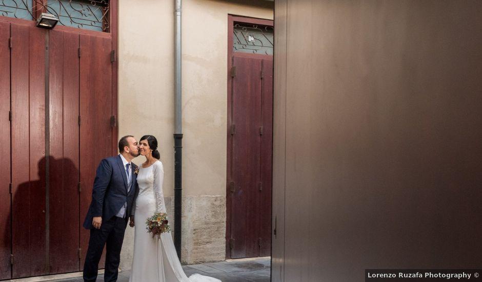La boda de Javier y Bárbara en Vilamarxant, Valencia