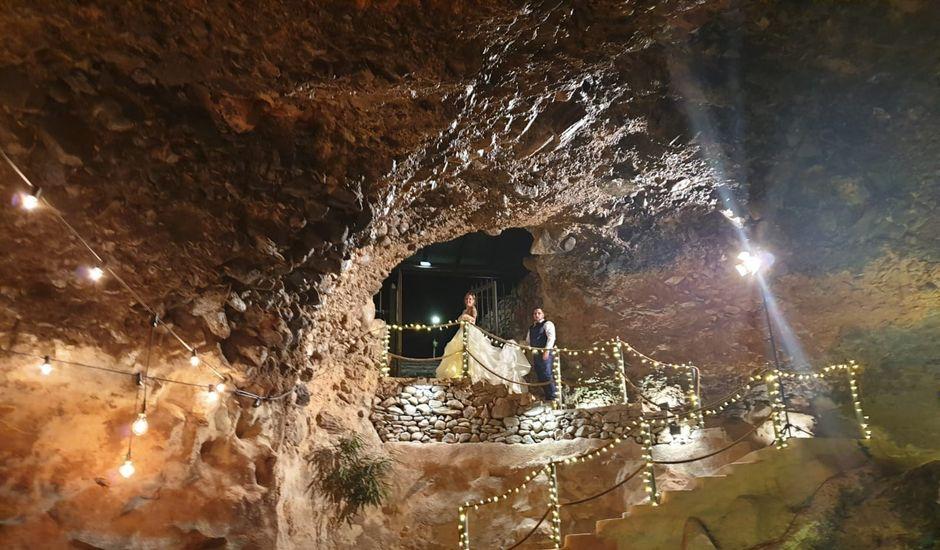 La boda de Rene y Lourdes en Galdar, Las Palmas