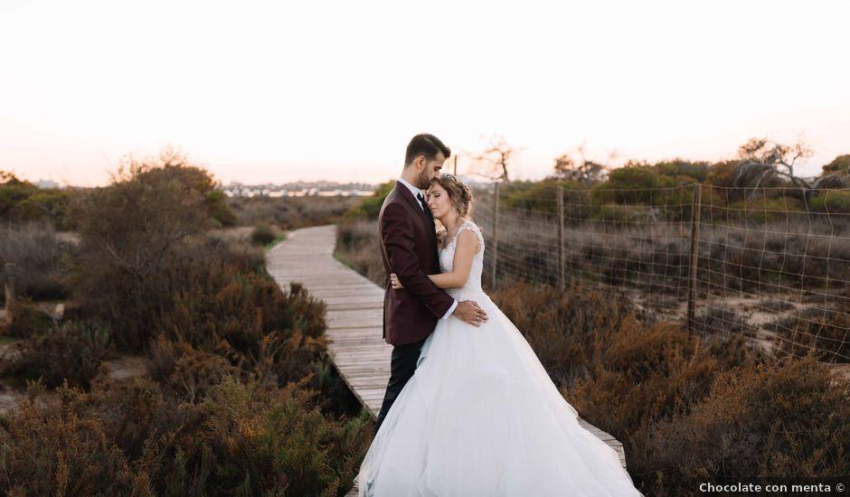 La boda de José David y Rocío en San Javier, Murcia