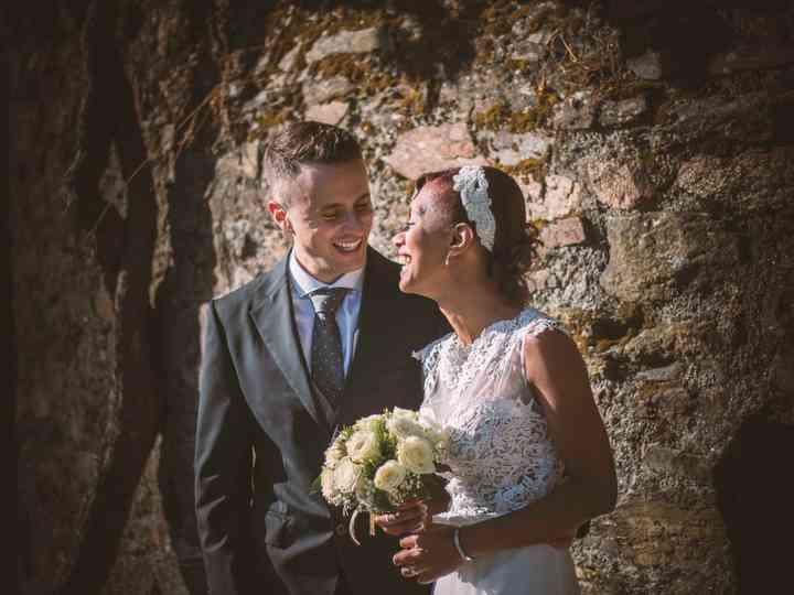 La boda de Rossana y David
