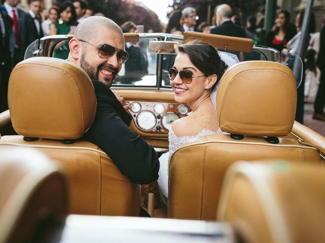 La boda de Sylvia y Víctor