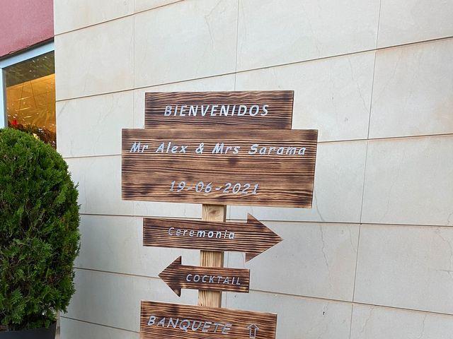 La boda de Álex  y Sarama en Novelda, Alicante 10