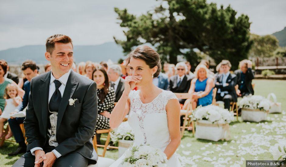 La boda de Stefan y Marta en Baiona, Pontevedra