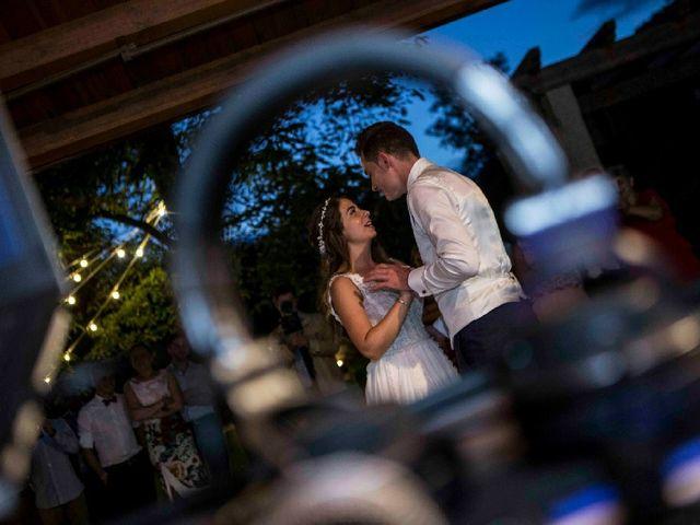 La boda de Daniel y Paula en O Bidueiro (Ordes), A Coruña 3