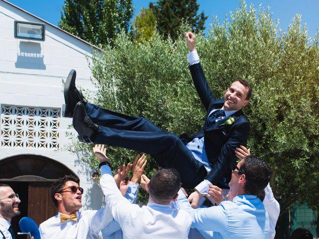 La boda de Alex y Yanire en Fuentes De Ebro, Zaragoza 24