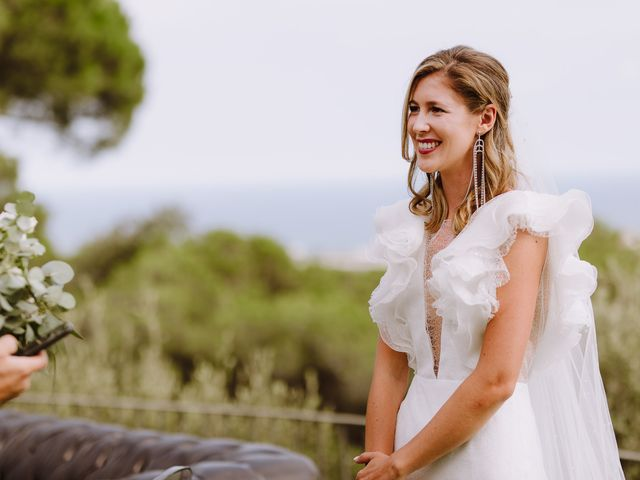 La boda de Mathieu y Marta en Sant Andreu De Llavaneres, Barcelona 34
