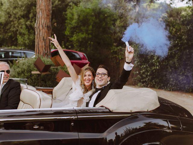 La boda de Mathieu y Marta en Sant Andreu De Llavaneres, Barcelona 71