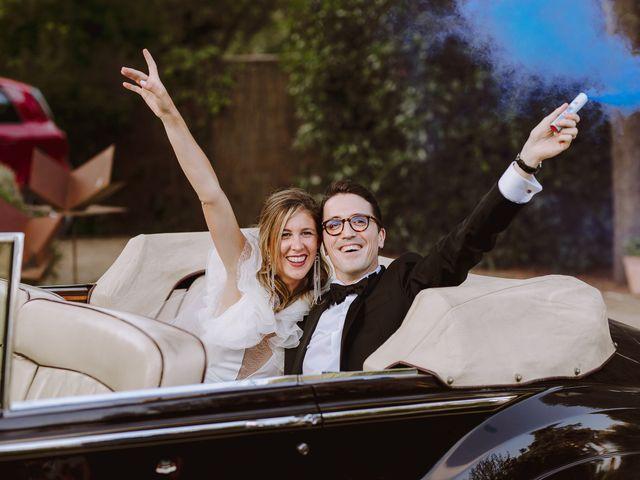 La boda de Mathieu y Marta en Sant Andreu De Llavaneres, Barcelona 72