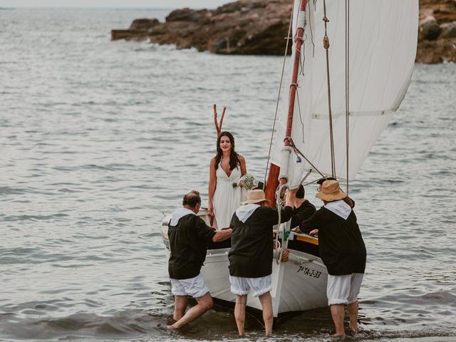 La boda de Josep y Mónica en L' Ametlla De Mar, Tarragona 37