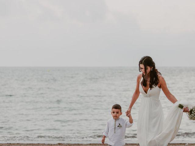 La boda de Josep y Mónica en L' Ametlla De Mar, Tarragona 39