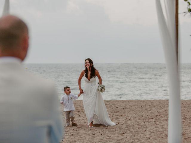 La boda de Josep y Mónica en L' Ametlla De Mar, Tarragona 40