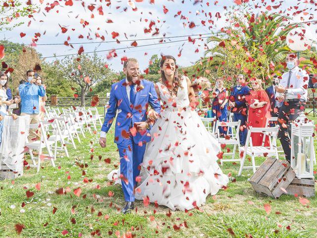 La boda de Sara y Antón
