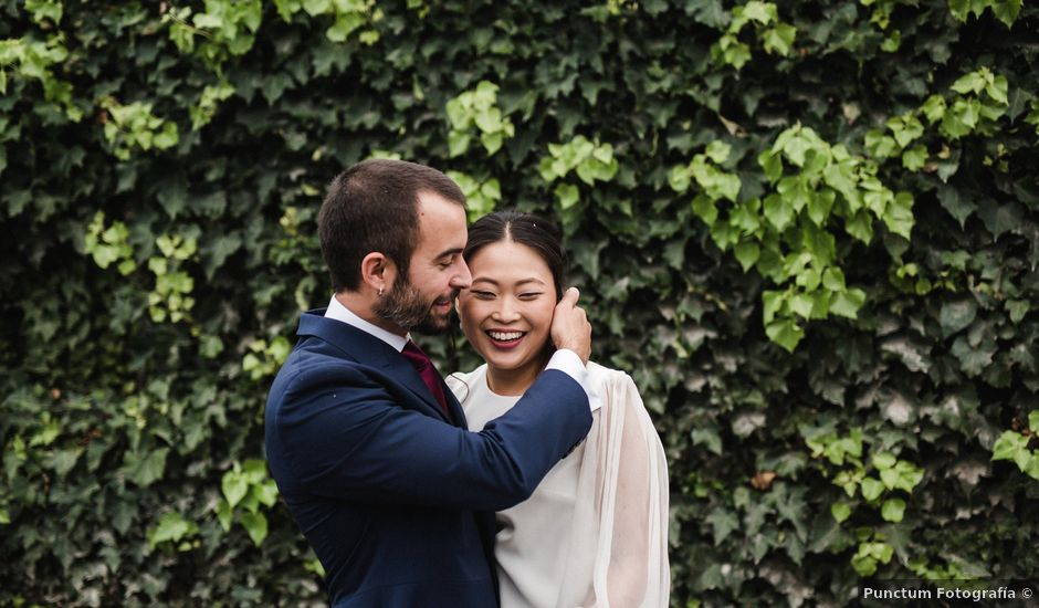 La boda de Martín y Bit en Ribadavia, Orense