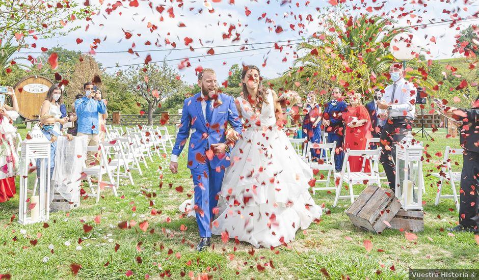 La boda de Antón y Sara en Gijón, Asturias