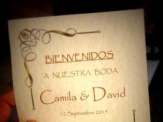 La boda de Camila y David 1