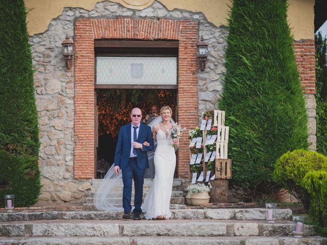 La boda de Pablo y Amelie en Madrid, Madrid 84