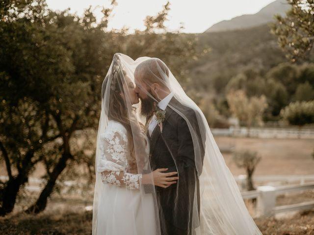 La boda de Rocío y David en Orba, Alicante 1