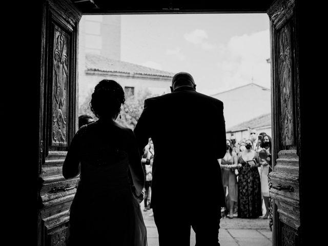 La boda de Diego y Laura en Coca, Segovia 12