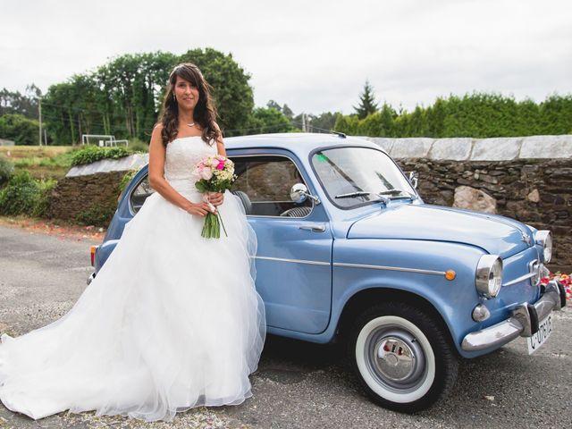 La boda de David y Almudena en Abegondo, A Coruña 10