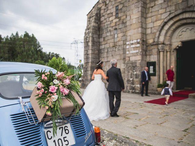 La boda de David y Almudena en Abegondo, A Coruña 11