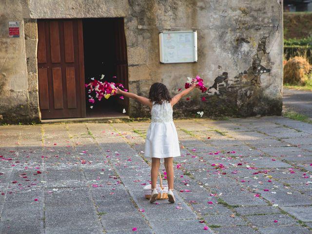 La boda de David y Almudena en Abegondo, A Coruña 14