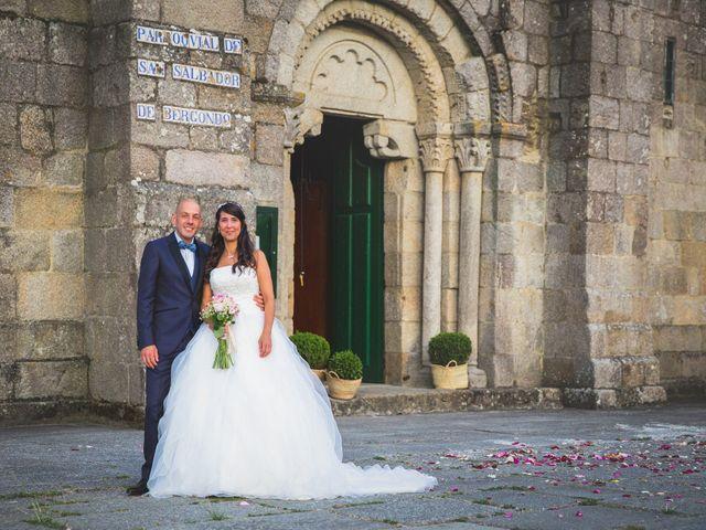 La boda de David y Almudena en Abegondo, A Coruña 16