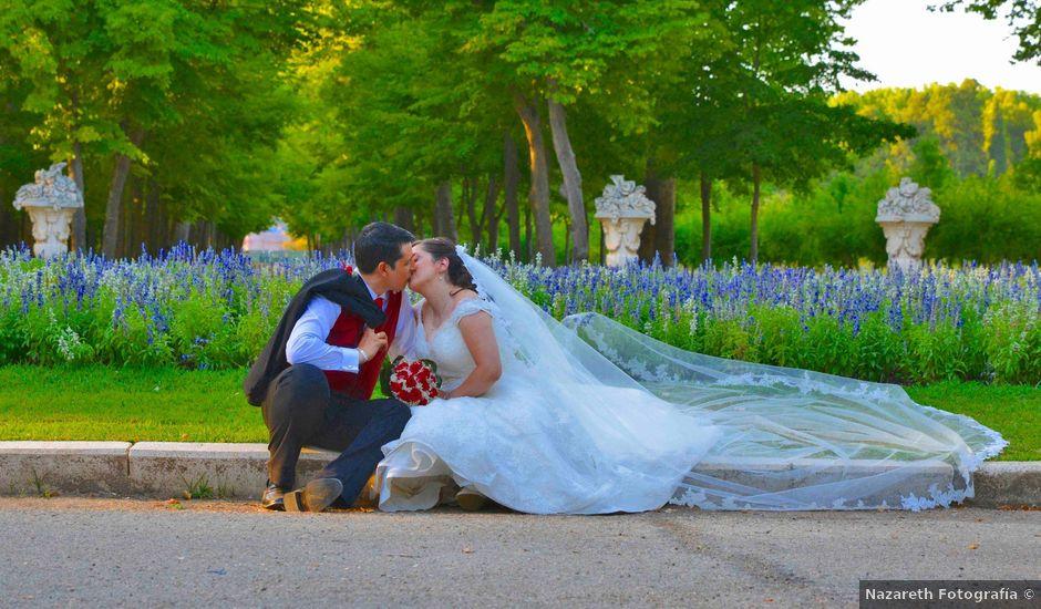 La boda de Samuel y Ana en Alameda De La Sagra, Toledo