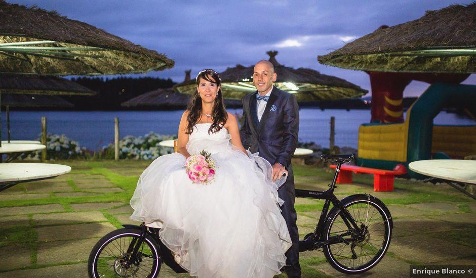 La boda de David y Almudena en Abegondo, A Coruña