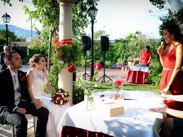 La boda de Raffaele y Diana en El Tiemblo, Ávila 41