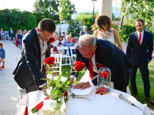 La boda de Raffaele y Diana en El Tiemblo, Ávila 61