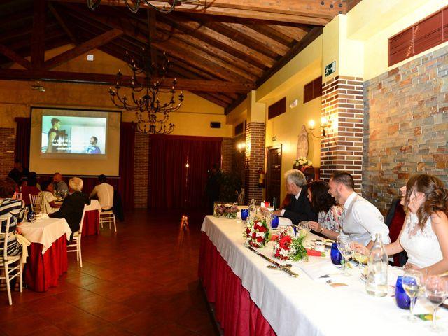 La boda de Raffaele y Diana en El Tiemblo, Ávila 85