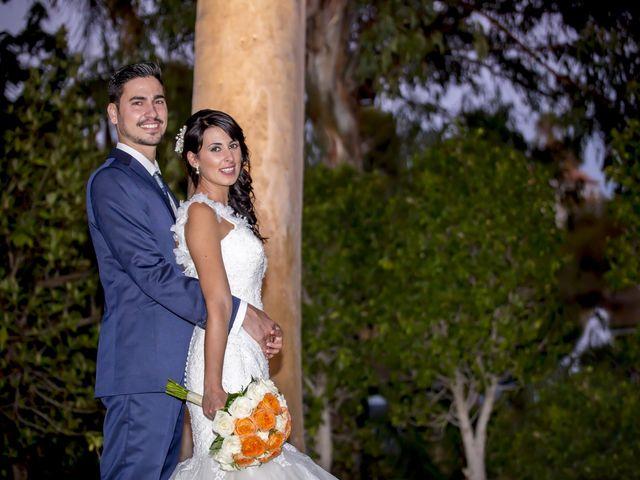 La boda de Monica y Juan de la Rubia