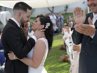 La boda de Ioana y Ricardo