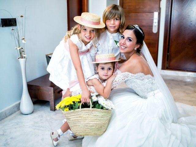 La boda de Benjamín y Estefanía en Granja De Torrehermosa, Badajoz 15