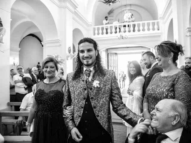 La boda de Benjamín y Estefanía en Granja De Torrehermosa, Badajoz 17