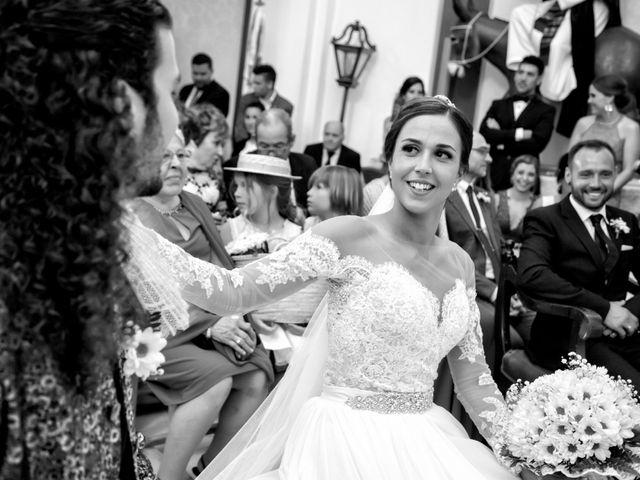 La boda de Benjamín y Estefanía en Granja De Torrehermosa, Badajoz 21