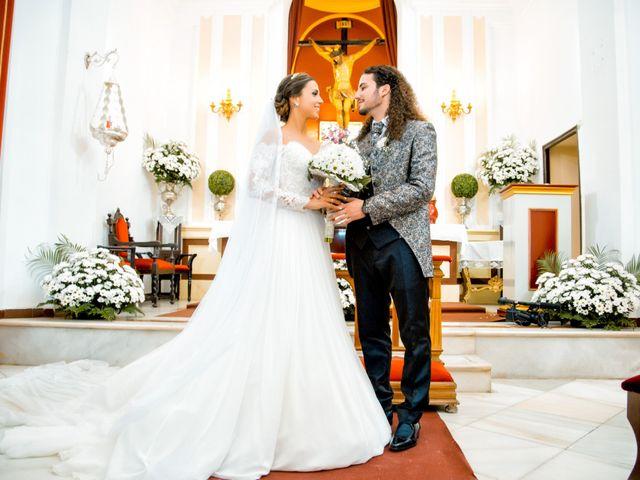 La boda de Benjamín y Estefanía en Granja De Torrehermosa, Badajoz 22