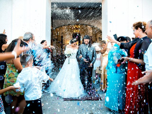 La boda de Benjamín y Estefanía en Granja De Torrehermosa, Badajoz 23