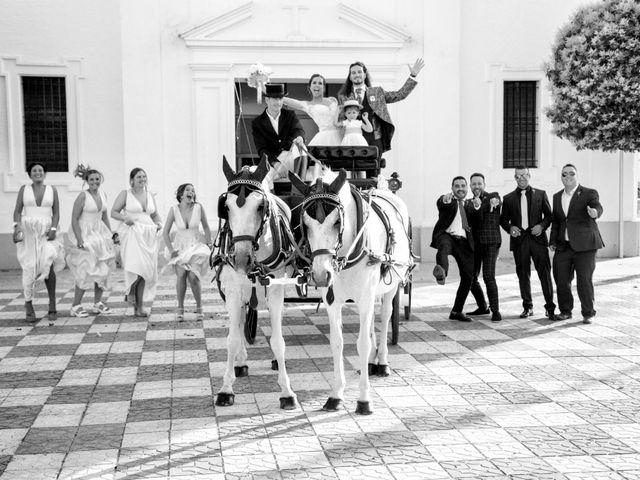 La boda de Benjamín y Estefanía en Granja De Torrehermosa, Badajoz 24
