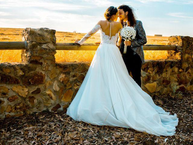 La boda de Benjamín y Estefanía en Granja De Torrehermosa, Badajoz 26